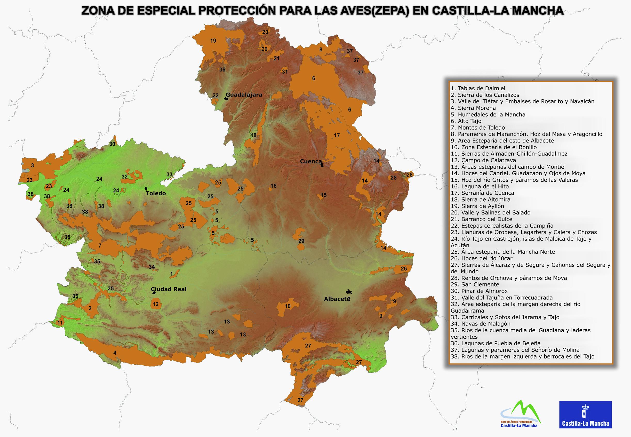 Informacin Ambiental de CastillaLa Mancha
